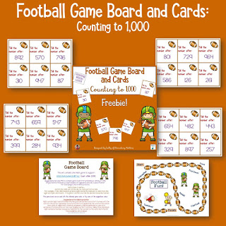 Are you ready for the big game? This football themed game will help those kiddos keep their football enthusiasm in their learning!