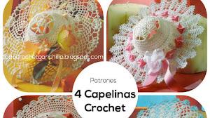 4 Capelinas Crochet / Patrones
