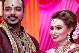 Malaysian Hindu Engagement ceremony | Linges & Nirosha