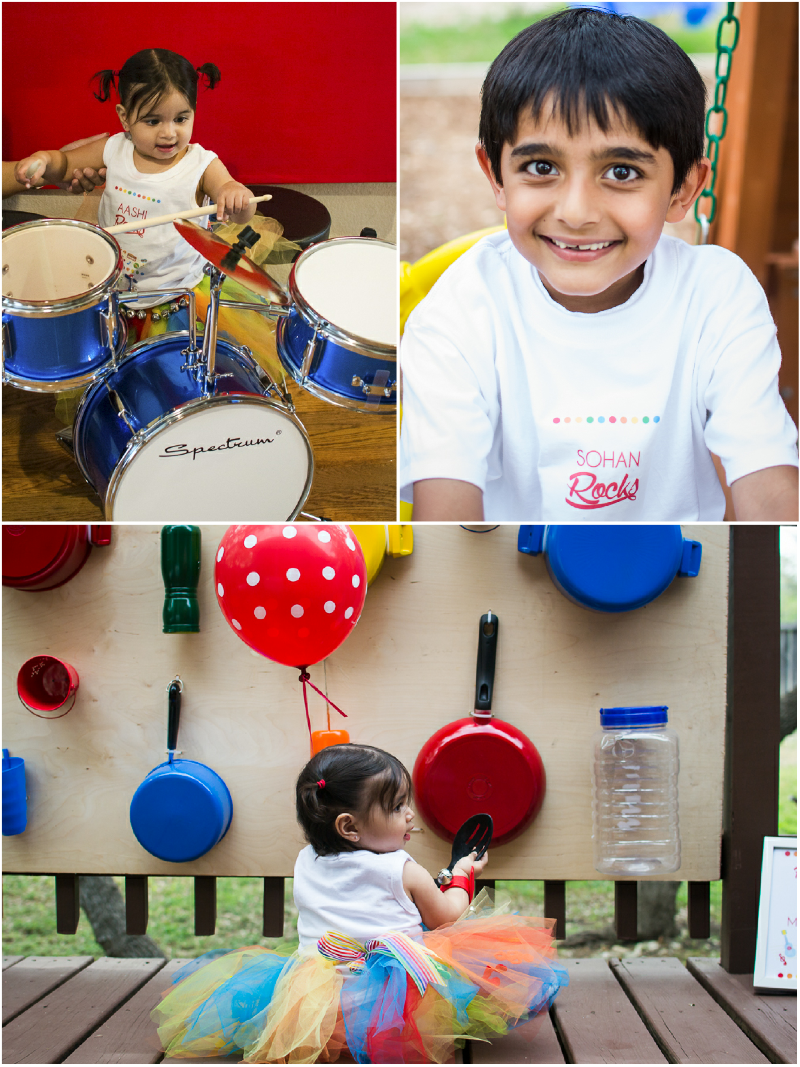 A Music Inspired 1st Birthday Party Party Activities and Games