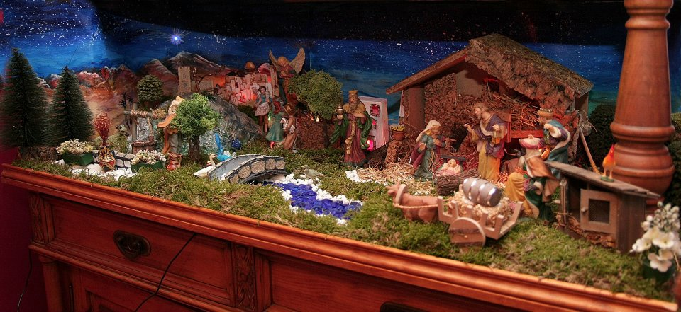 I Was Hoping To Fill A Bottle With All The Blue Stoneswhich Did And Thankfully Had Enough For River In Our Nativity