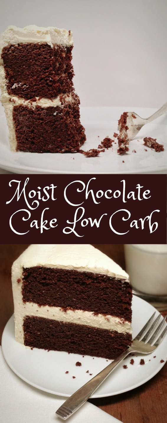Moist Chocolate Cake Low Carb