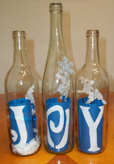 Joy Christmas Table Decorations