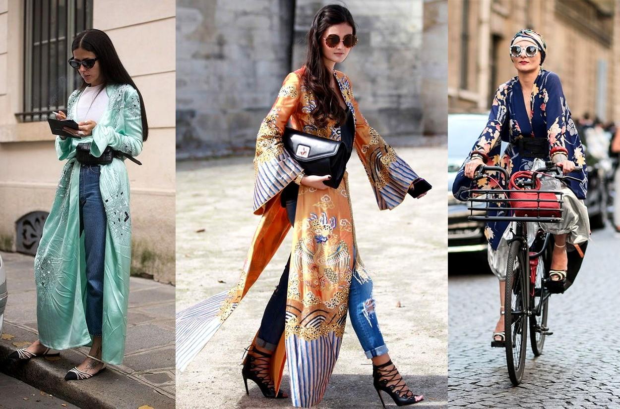 Tendance mode kimono