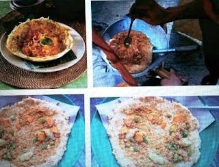 Egg crust (Kerak Telor) is culinary from Jakarta