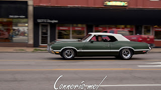 Draggin Douglas Green Oldsmobile 442 W-30 1