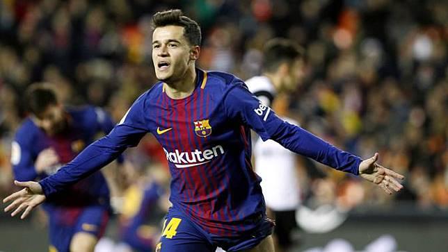 Barcelona Tekuk Lyon, Coutinho Mengaku Tampil Buruk