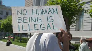 """No human is illegal"""