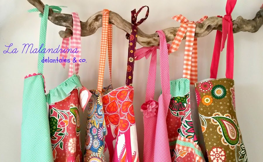 delantales handmade
