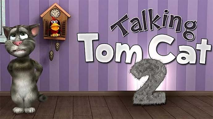 Aplikasi Pencinta Kucing - Talking Tom Cat 2