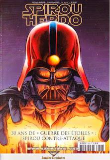 Spirous Hebdo, 30 ans de Guerre des étoiles, spirou contre attaque, numéro 3626, année 2007
