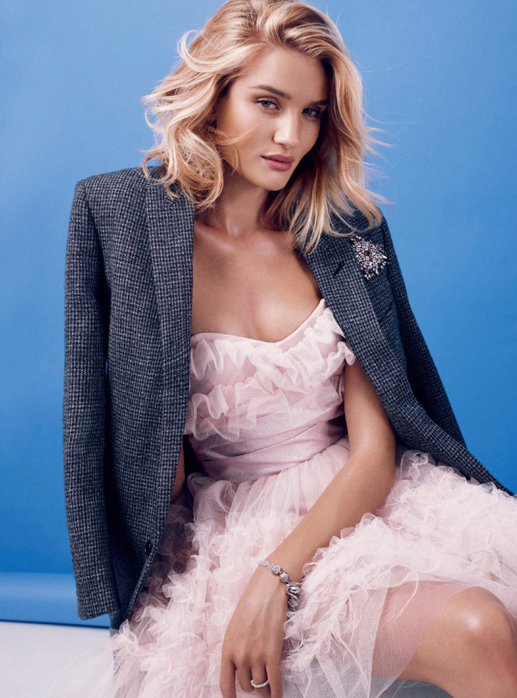 Rosie Huntington Whiteley Harper's Bazaar UK September Issue 2015 Photographer Alexi Lubomirski
