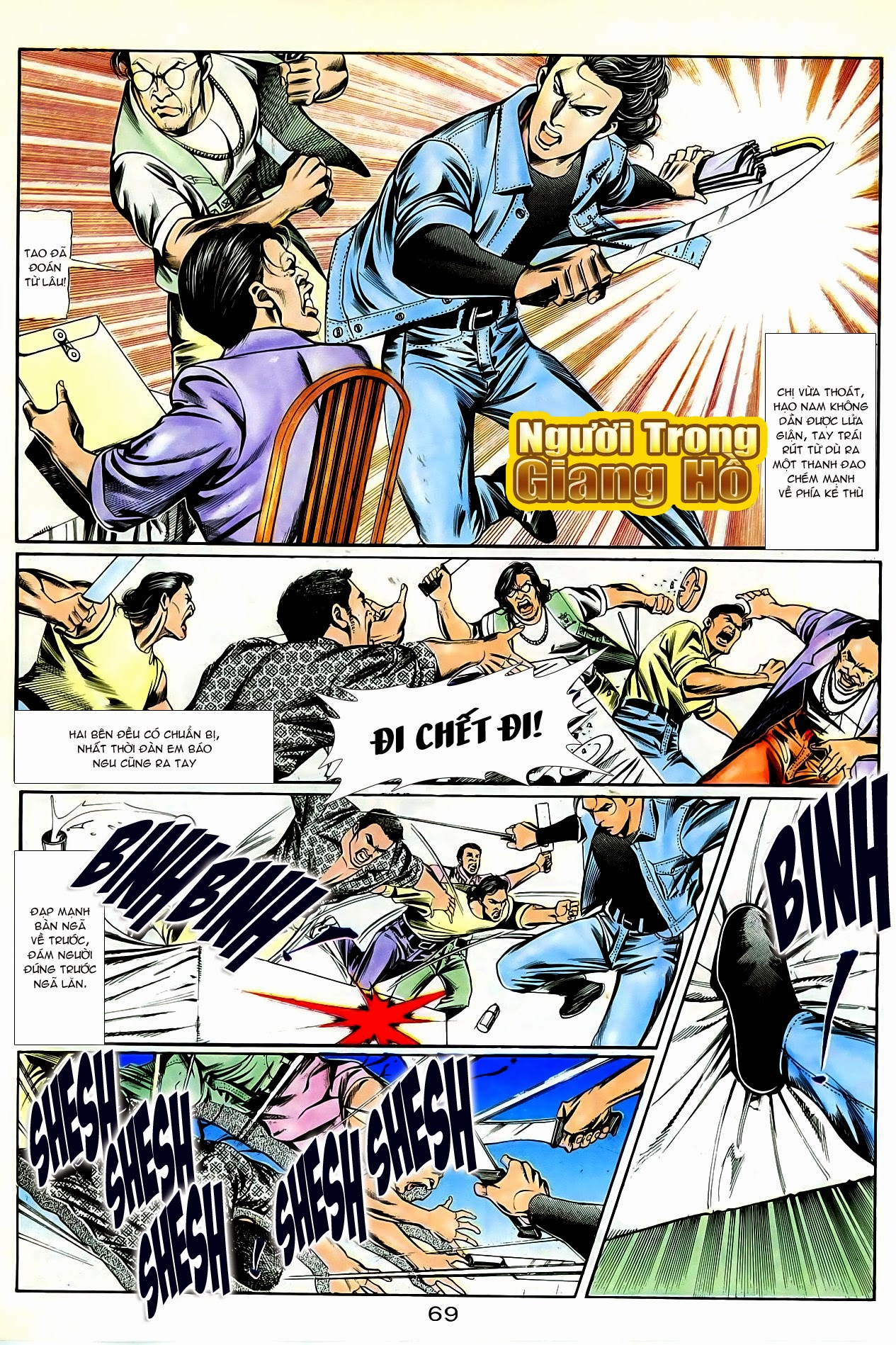 Người Trong Giang Hồ chapter 86: săn báo trang 12