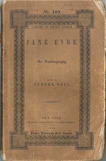 A paperbound copy of Jane Eyre.