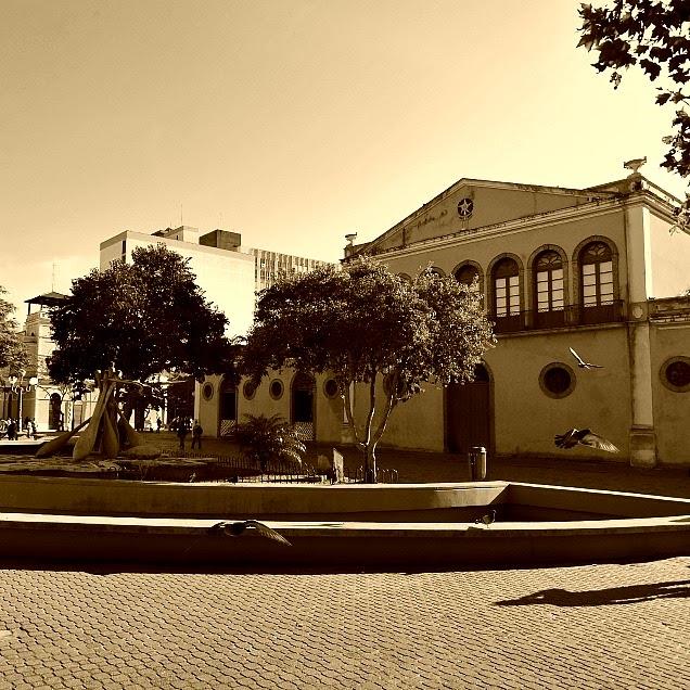 Largo da Alfândega, em Florianópolis