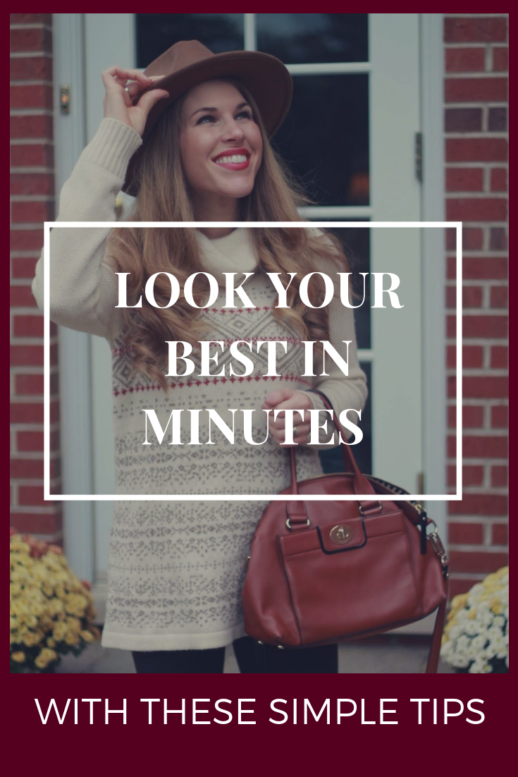 Look Your Best In Minutes With These Simple Tips