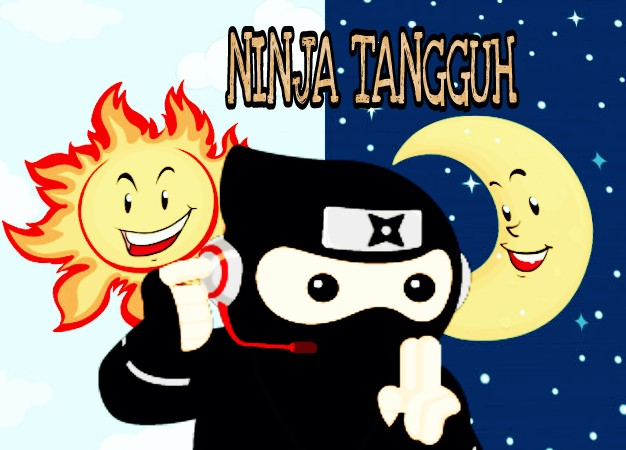 gambar ninja kartun