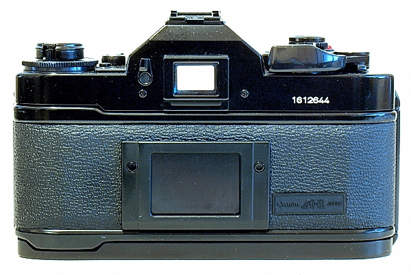 Canon A-1, Back