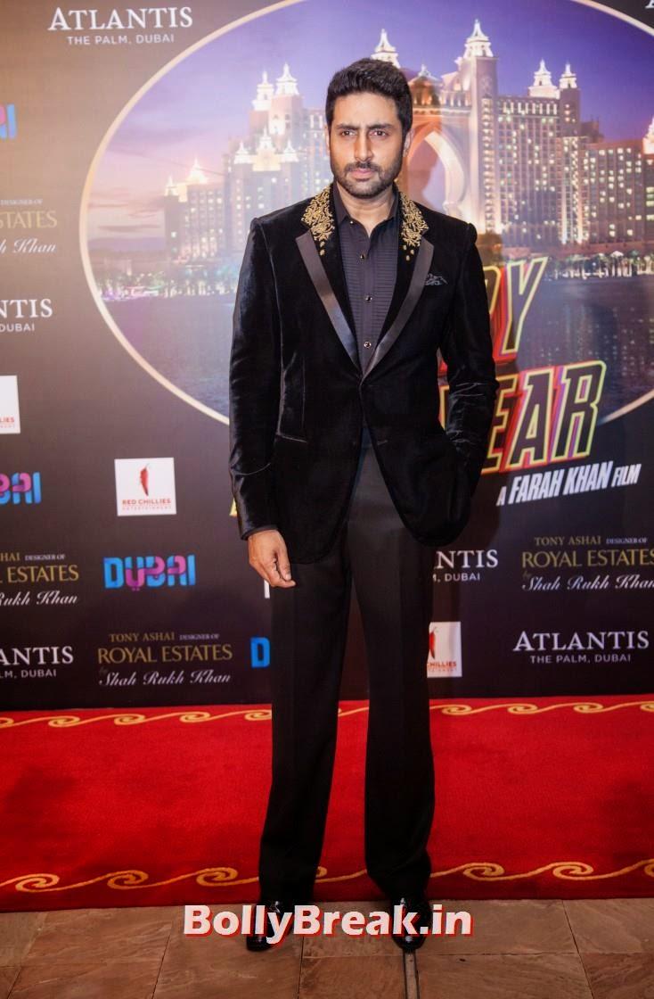 Abhishek Bachchan, Happy new Year Dubai Premiere Photos