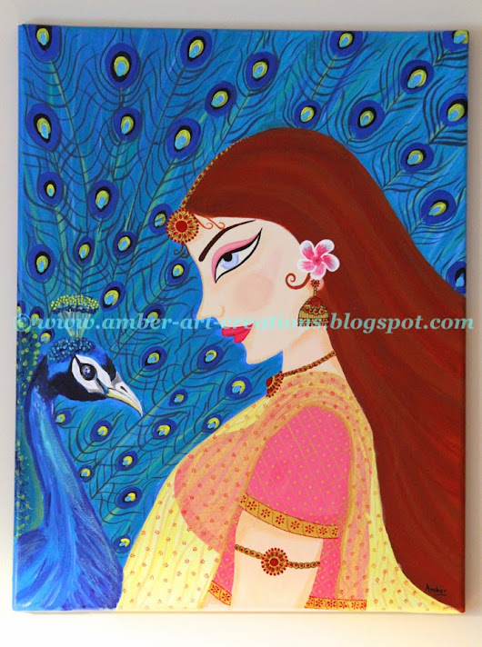 Canvas Painting - 'Maitri'