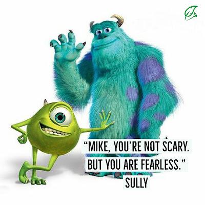 Berproses Mengenal Jati Diri (Mike dan Sully) Quote Monster University