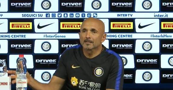 La conferenza Stampa di Spalletti pre Inter Genoa