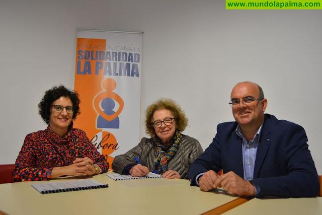 Cabildo y Fundación Solidaridad renuevan la gestión de 13 plazas para dependientes en la residencia de Los Llanos de Aridane