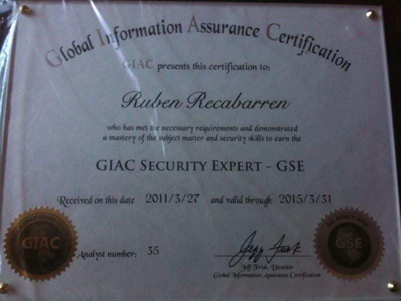 Seguridad Informática en Latinoamérica: Primer GSE en