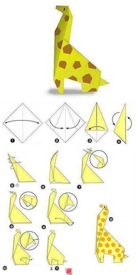 tutorial origami hewan