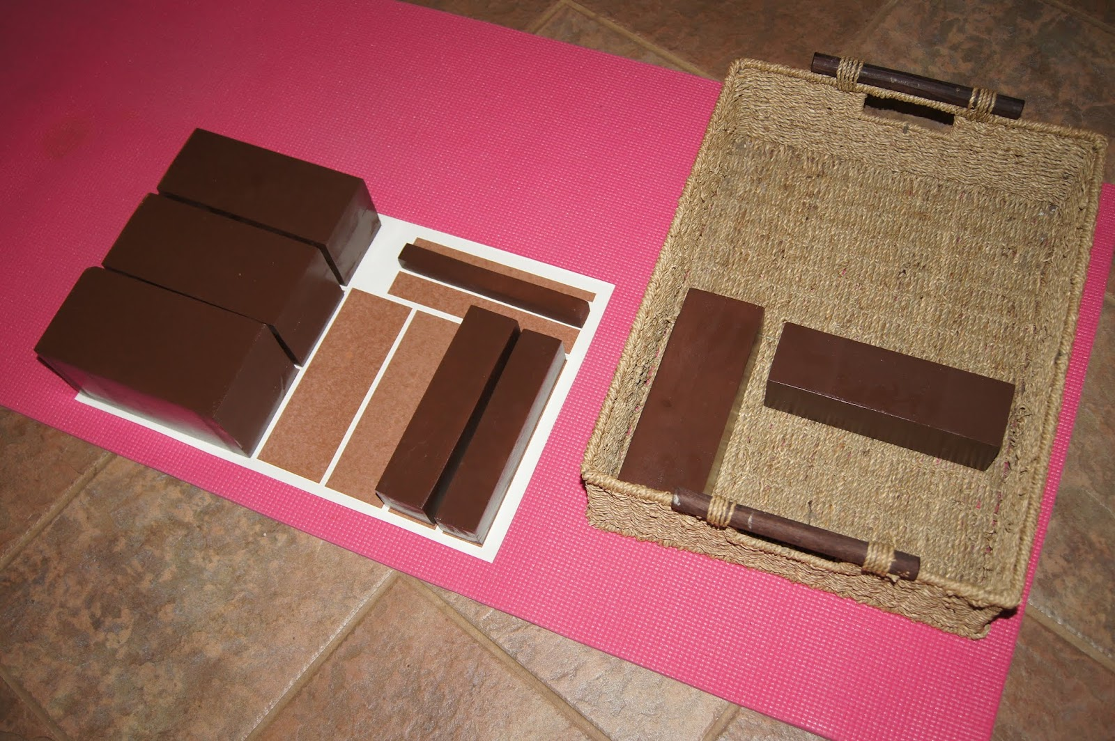Home Design App Used On Love It Or List It Diy Montessori Brown Stair Sensorial At Home Quot Making
