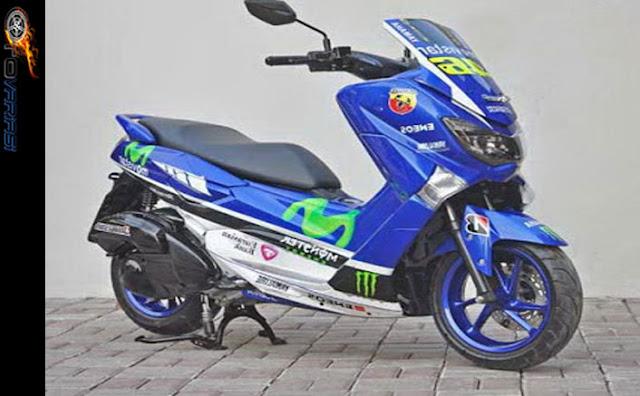 modif motor nmax seperti motogp