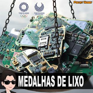 Pocket Hobby - www.pockethobby.com - Medalhas de Lixo Tokyo 2020
