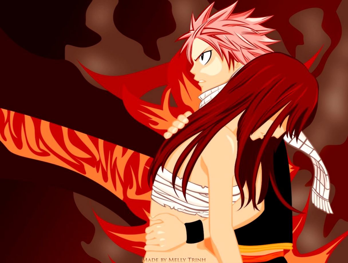 Natsu Erza Fairy Tail Wallpaper Hd Wallpapers Plus