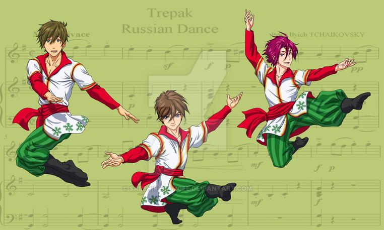 Piano part from Nutcracker Noel: 3. Trepak: Russian Dance ...