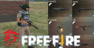 Cara Mendapatkan Senjata Dengan Cepat Game Free Fire