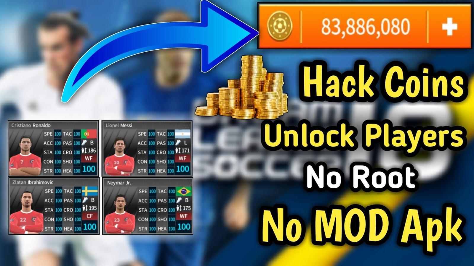 hack dream league 19 coins apk