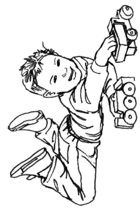Realistic Teenage Boy Coloring Pages