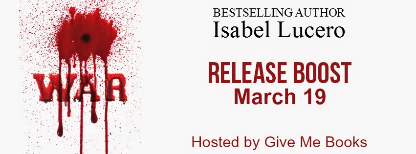 Release Boost for War by Isabel Lucero!!