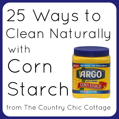 http://www.thecountrychiccottage.net/25-ways-to-clean-naturally-with-corn/