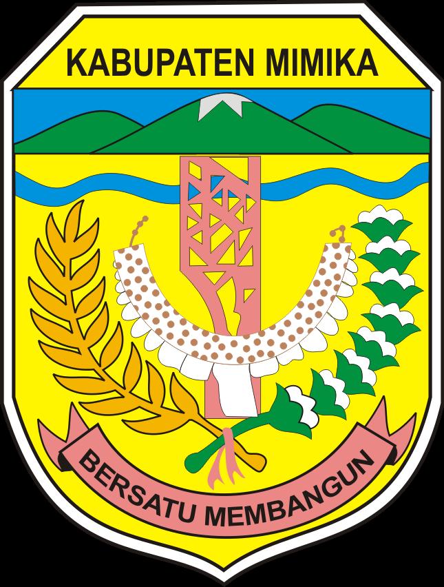 Logo Lambang Kabupaten Mimika Kumpulan Logo Lambang Indonesia