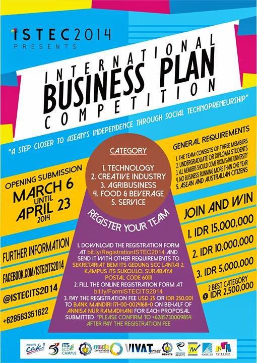 lomba business plan deadline november 2014