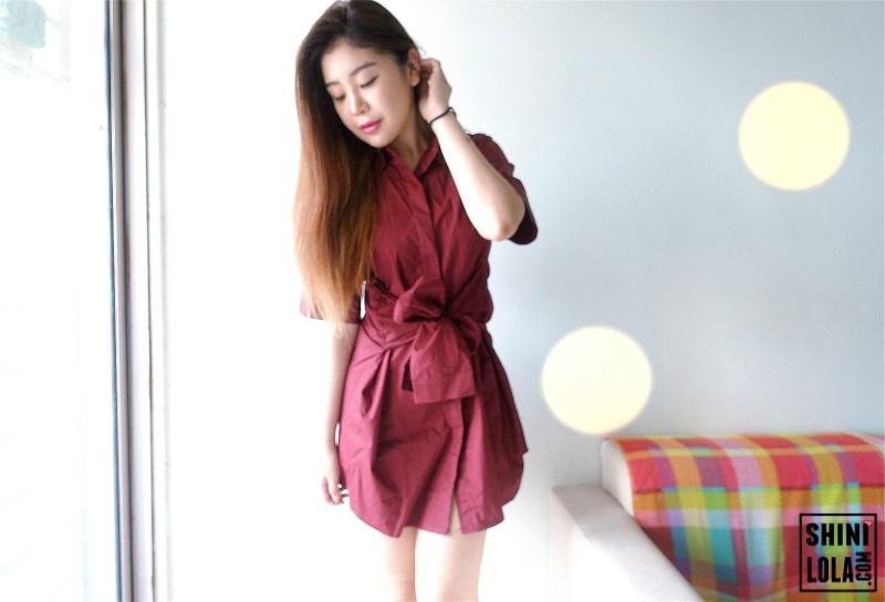 Ballard Shirt Dress