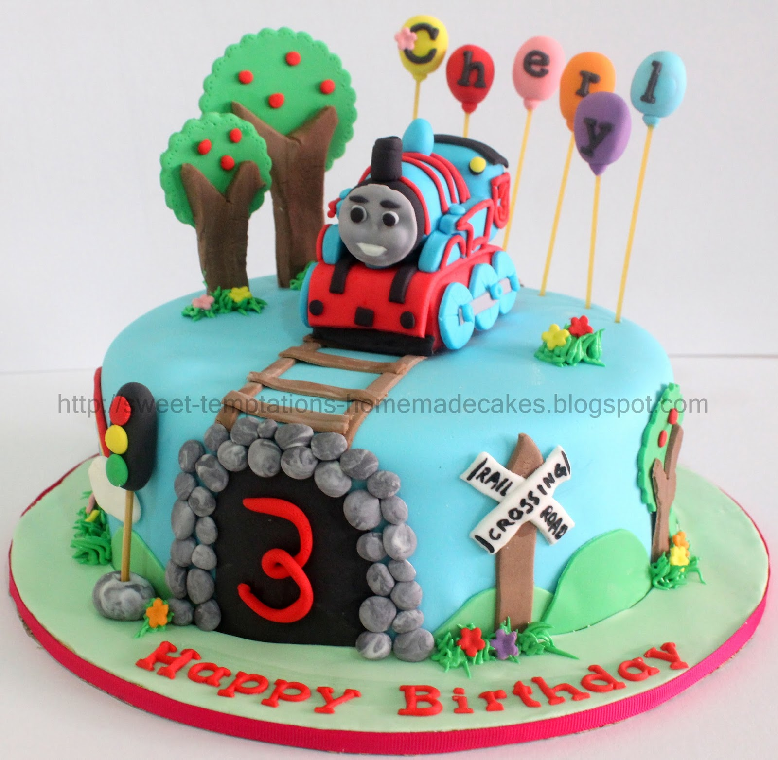 Sweet Temptations Homemade Cakes Amp Pastry Thomas Train Cake
