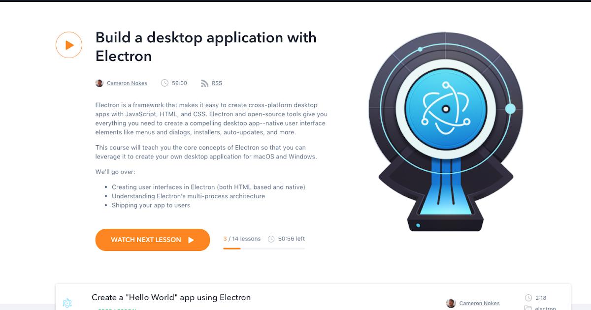 Build Electron App