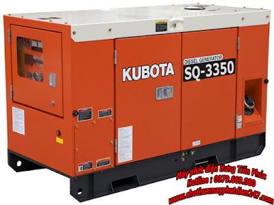 Máy phát điện Kubota 35kva SQ-3350