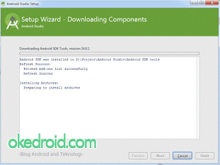 Downloading Component SDK Android Studio