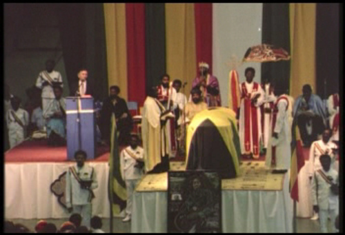 Bob Marley Funeral