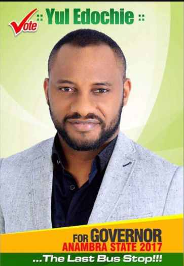 Yul Edochie announces plan to contest in Anambra guber election