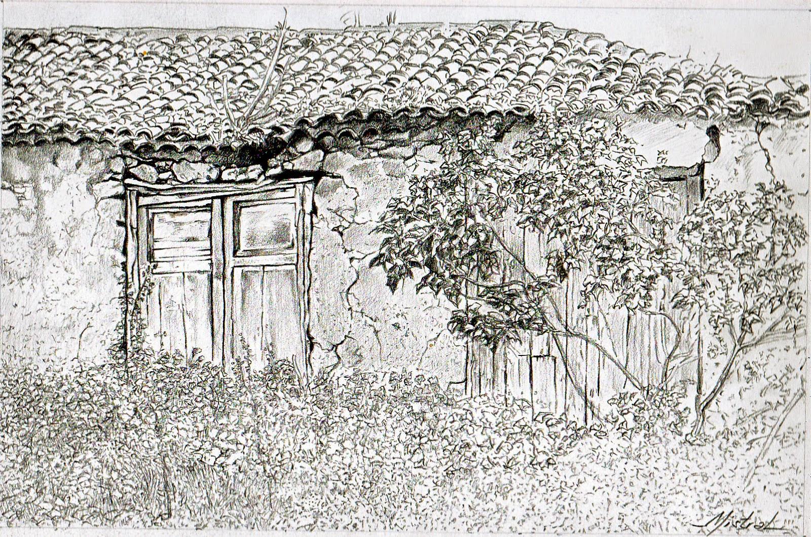 Resultado de imagen para casa vieja dibujo