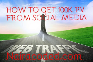 How To use Social Media in Getting 100k+ Daily Pv On your Blog